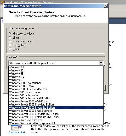 download vmware player for windows server 2003